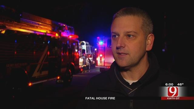 Crews Investigating Fatal Fire In MWC