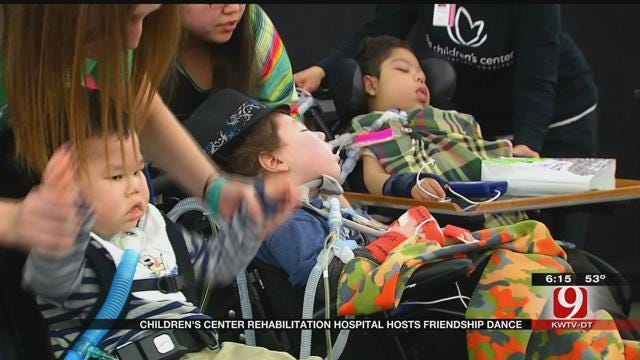 The Children's Center Rehabilitation Hospital Hosts Valentine's Day Dance