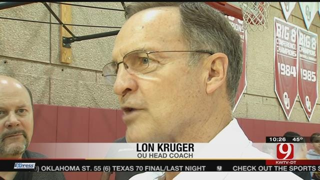 OU Ready For Saturday's Matchup With KU