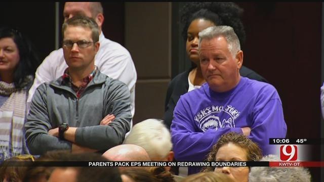 Parents Pack Edmond Public Schools Meeting On Redrawing Boundaries