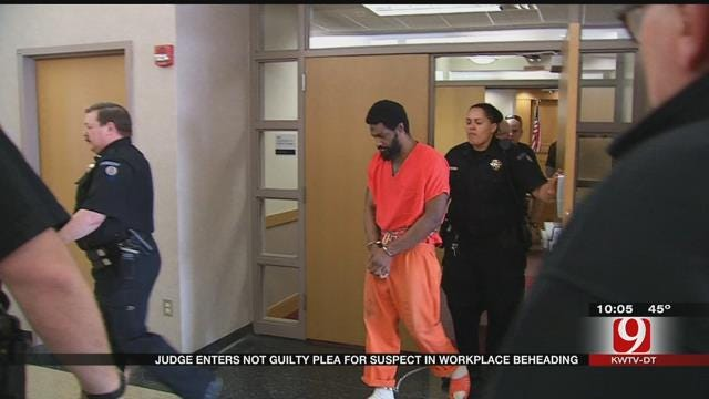 Judge Enters 'Not Guilty' Plea For Suspect In Moore Workplace Beheading