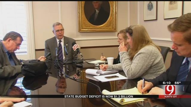 State Budget Deficits Hits $1.3 Billion