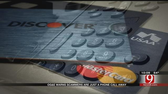 OG&E Warns Scammers Are Just A Phone Call Away