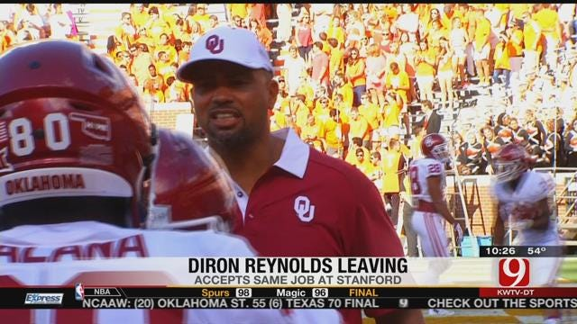 OU's Defensive Line Coach Diron Reynolds Leaving For Stanford