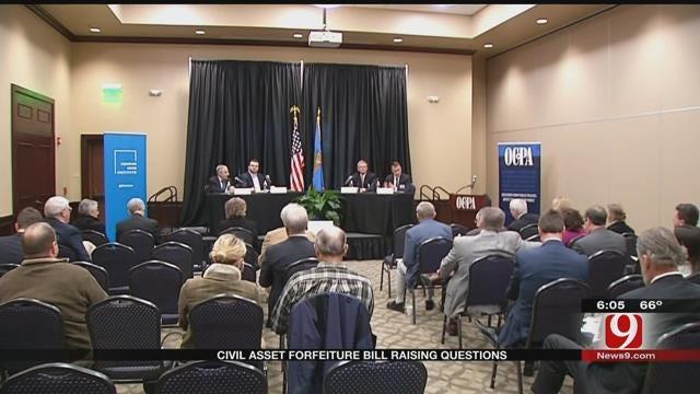 Proposed Civil Asset Forfeiture Raising Questions