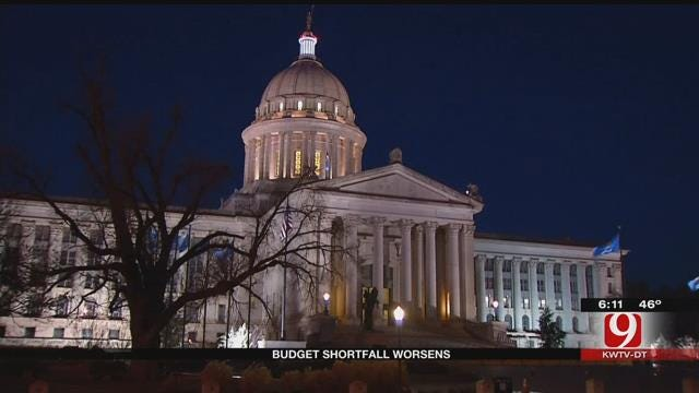 State Revenue Lower Than Expected Projections By 17 Percent