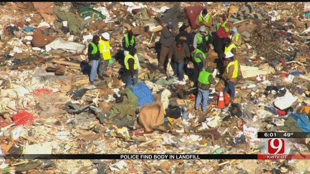 Police Investigate After Body Was Found In NE OKC Landfill