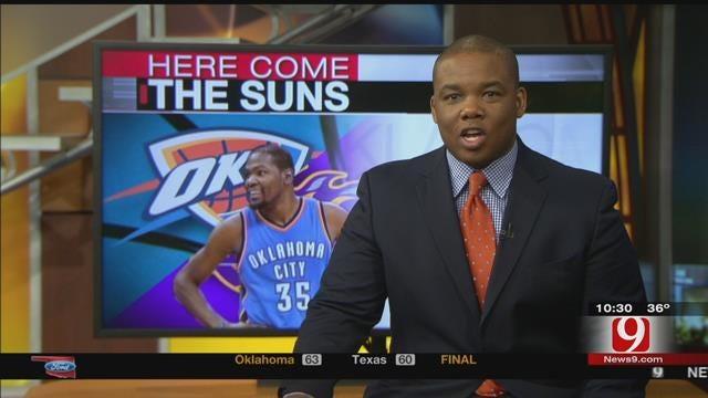 Thunder Report: Thunder Beat Suns In Phoenix