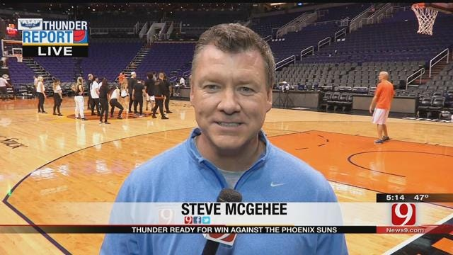 Thunder In Phoenix To Take On Struggling Suns