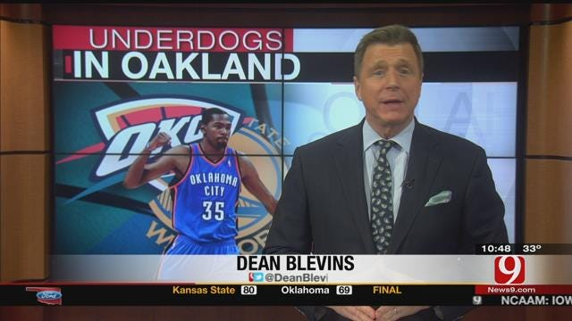 Thunder Fall To Warriors In Oracle