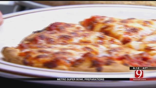 OKC Residents Prepare For Super Bowl Parties