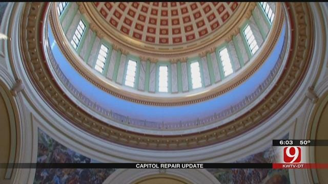 Governor Asks For $120 Million To Help Restore Capitol Building