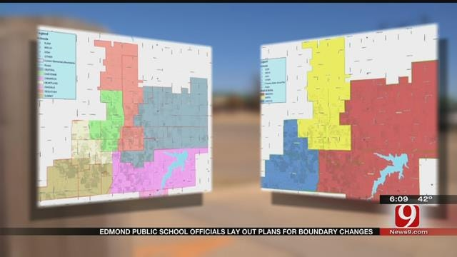 Edmond Public School Officials Lay Out Plans For Boundary Changes