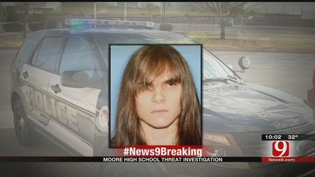 Former Moore HS Student Arrested For Making 'Violent And Graphic' Threats