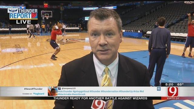 Thunder Report: OKC Hosts Washington Tonight At The Peake