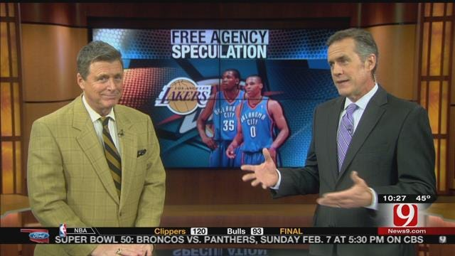 Thunder Free Agency Speculation Continues