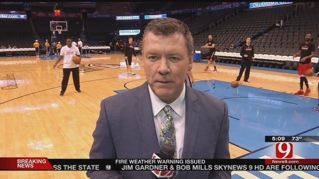 Thunder Report: Steve's At The Peake As OKC Hosts Houston