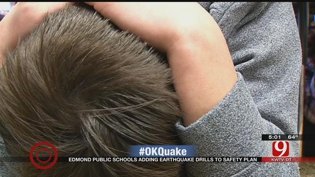 Edmond Public School Now Practicing Earthquake Drills
