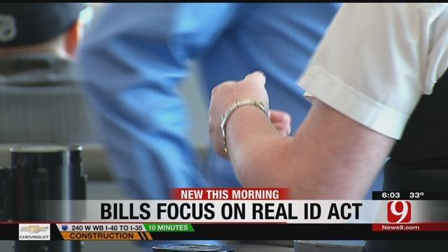 Oklahoma Bill Focuses On REAL ID Act