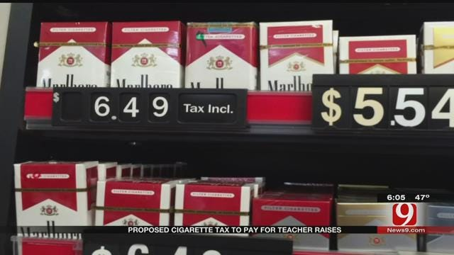 Proposed Cigarette Tax To Pay For Teacher Raises