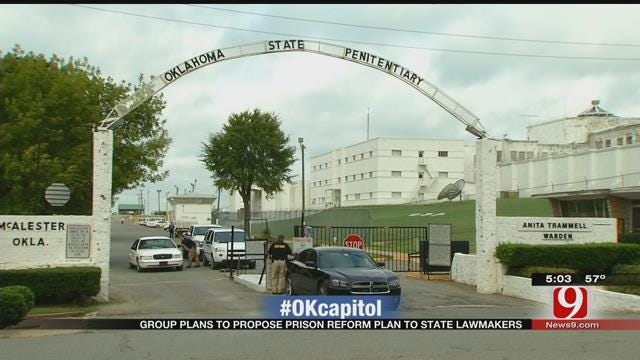 Group Plans To Propose Prison Reform Plan To State Lawmakers
