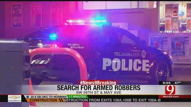OKC Police Seek Two Suspects In Convenience Store Armed Robbery