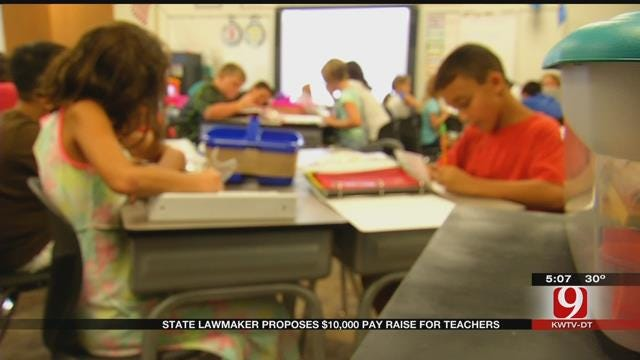 State Senator Releases New Plan To Give Teachers A Pay Raise