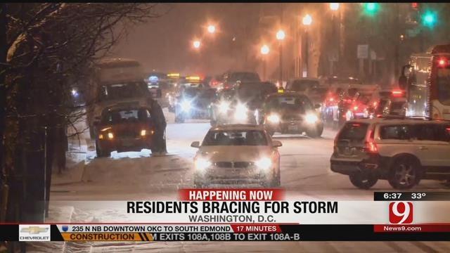Millions Brace For Crippling Winter Storm