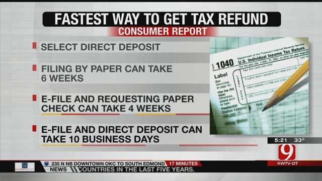 Tips For Getting Your Tax Return Faster