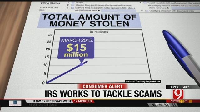 Treasury Department Warns Against Scammers Posing As IRS