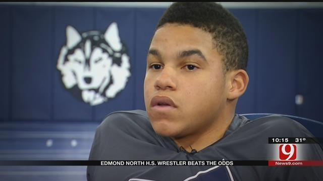 Edmond North Wrestler Beats The Odds