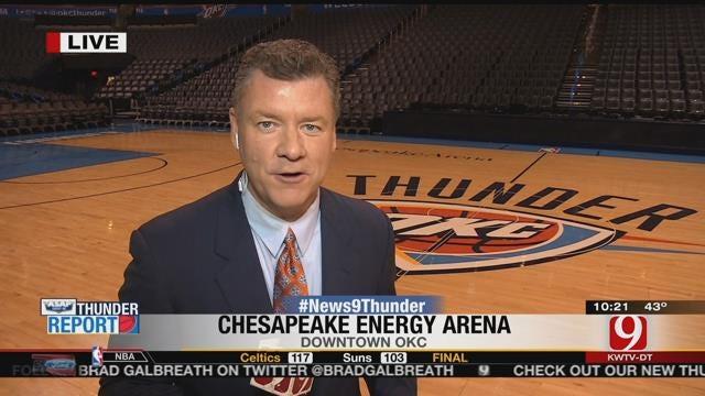 Thunder Report: OKC Takes Down Minnesota