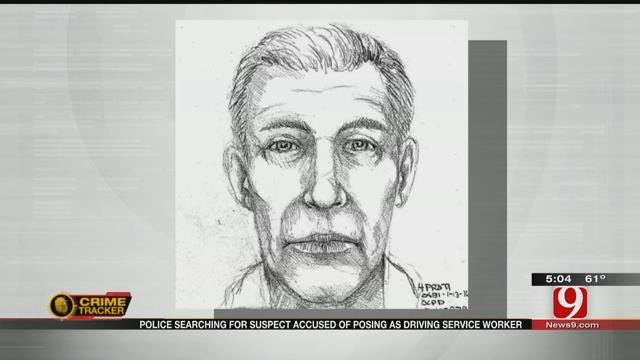 OKC Police Release Sketch Of Suspect Accused Of Sexual Assault