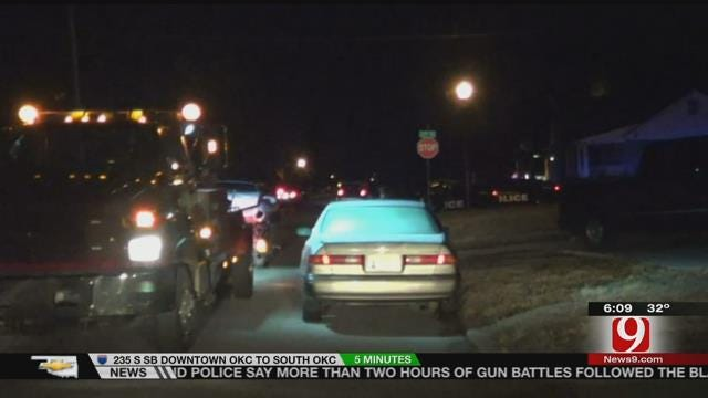 Three Arrested Following OKC Police Chase