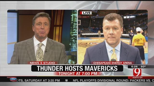 Thunder Report: Mavs In OKC