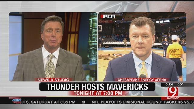 Thunder Report: Mavs In OKC