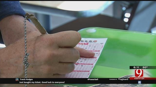 Oklahomans Have Powerball Fever: $1.5 Billion At Stake In Record Jackpot
