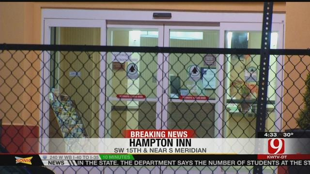 OKC Police Seek Two Who Robbed Two Hotels