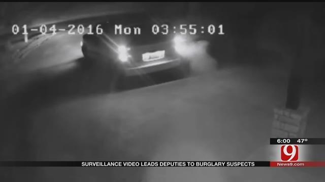Surveillance Video Leads Deputies To Burglary Suspects