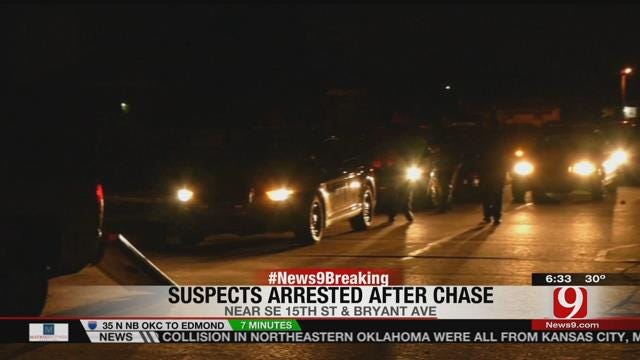 Police Pursuit Ends With Two Suspects In Custody