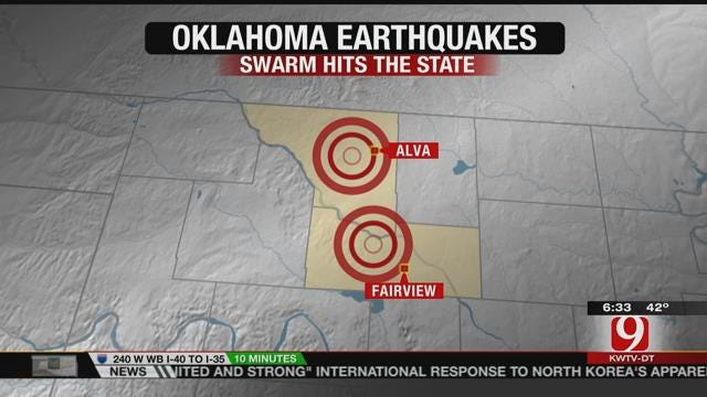 Multiple Earthquakes Rattle Oklahoma Overnight