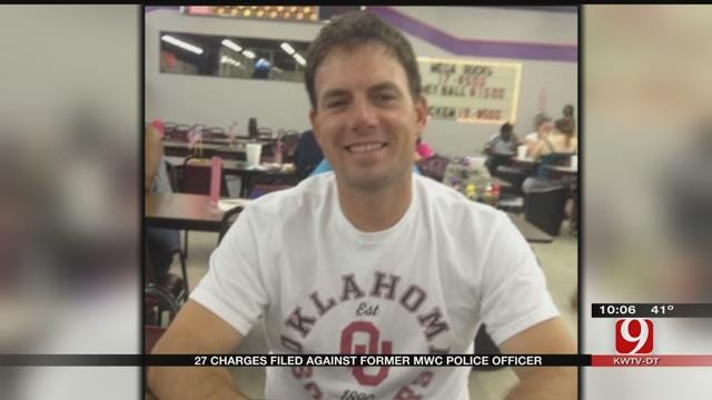 27 Charges Filed Against Former MWC Police Officer Accused Of Stealing Evidence