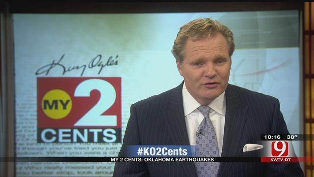 My 2 Cents: Oklahoma Earthquakes