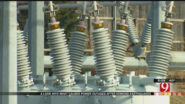 Edmond Officials Explain Power Failure During Recent Earthquakes