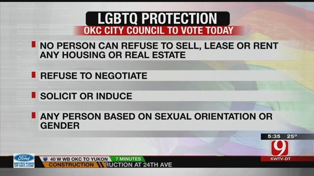 Oklahoma City To Vote On LGBTQ Housing Protections
