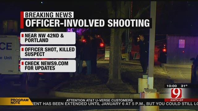 Officer-Involved Shooting Reported In NW OKC