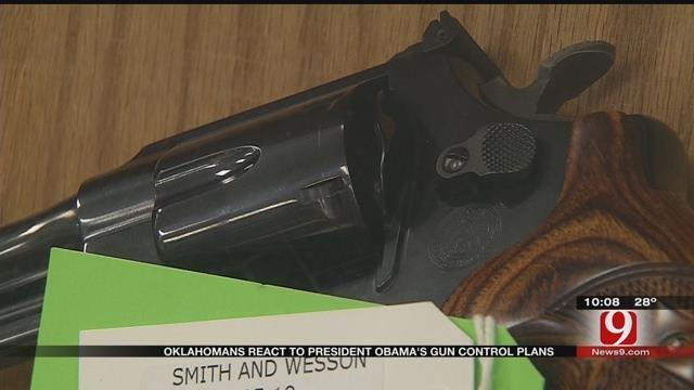Oklahomans React To President Obama's Gun Control Plans