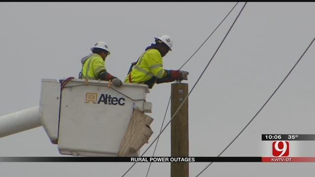 Pockets Still Without Power In Central Oklahoma