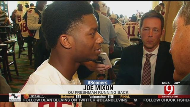 Mixon Talks To Media For The First Time