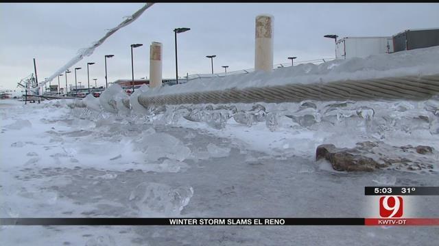Oklahomans Without Power Struggle To Stay Warm